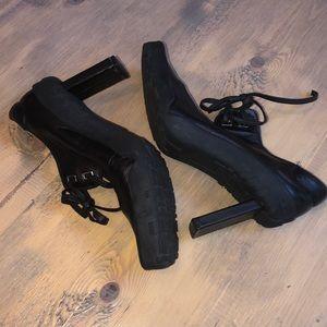 Diesel high heels black